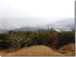 13山頂から長崎市内の眺望