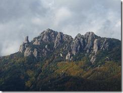 22瑞牆山が見えています