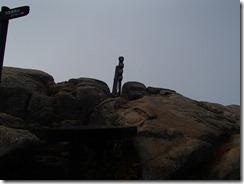 08瑞牆山山頂です