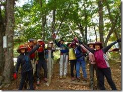 14日本百名山3座、無事に登頂しました