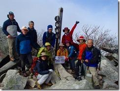 11金峰山登頂写真