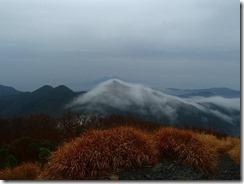 12雪を被ったような山、桜島が見えずに残念
