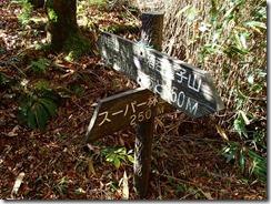 26小鈴峠、下山はスーパー林道へ下ります