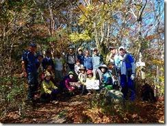 11ハナグロ山登頂写真