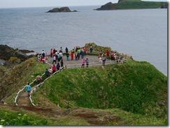 11スコトン岬、向こうはトド島、夏にはゴマフアザラシが見れます