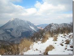 06雪の由布岳