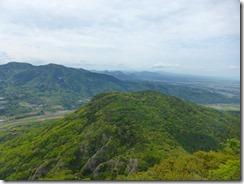 36西展望台から宇佐平野、八面山などが見えました