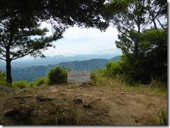 34展望台に到着、由布岳などが見えています
