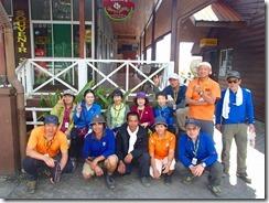 52テインポホンへ無事に下山しました、全員登頂おめでとうございます