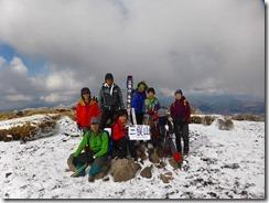 21三俣山本峰登頂写真