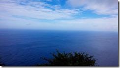 2-09松島展望所 (島の西側の海、東シナ海)