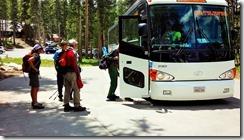 1-15ヨセミテビレッジ行きバス