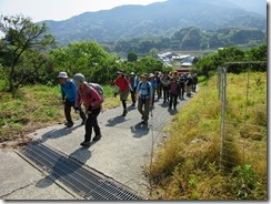 04 十坊山への登り開始