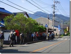 02 中村登山口へ向かいます