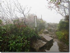18風雨が強いのでマナイタグラ手前の分岐からすぐに下山