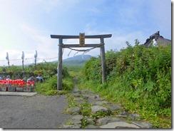 5 月山本宮 月山はまだ見えない