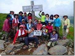 24 姥ヶ岳山頂