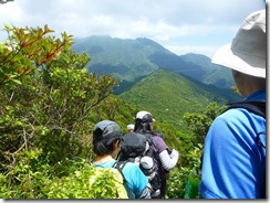 23雲仙岳を目指して下山します
