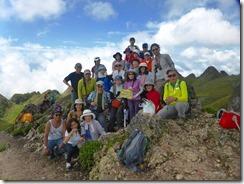 24オスメニア山、登頂写真