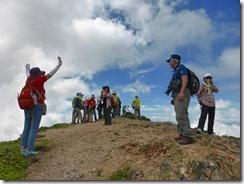23オスメニア山、山頂到着