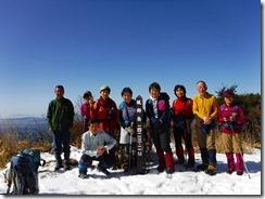 09猟師山山頂