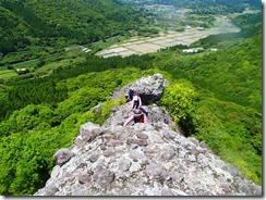 10岩稜歩きは続きます