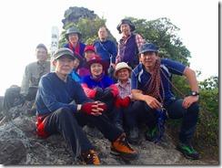 24磯間岳登頂写真