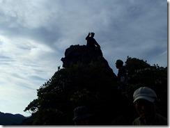 23磯間岳山頂
