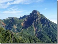 2-10前方に主峰、赤岳P9122673