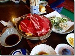 3-22今日の夕食はお肉でしたP9132807