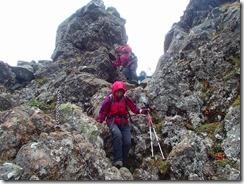 3-09岩稜帯の下りP9132753