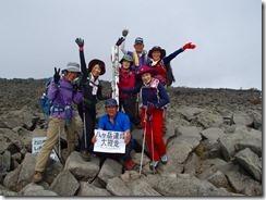 5-12蓼科山にて登頂写真P9152932