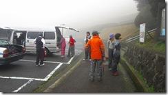 1-10鬼岳園地(天文台)に無事に下山、車で笹岳へ向かいます