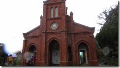 2-11往路を戻り下山後、堂崎教会へ立ち寄りました