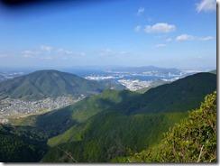 19長崎港がくっきり見えます、女神大橋も。
