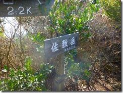 16佐敷岳山頂、3座目です