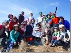26マロン岩峰、登頂写真