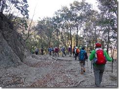 29 マロン岩峰登山口まで引き返して下山は林道歩きです