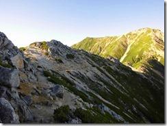 3-04大天井岳への縦走路