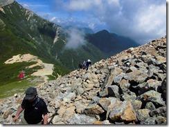 3-19ガレの登山道