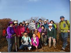 21 障子岳にて登頂写真