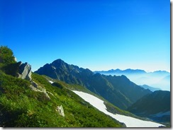 3-06サンサン山倶楽部の別隊が登っている剱岳
