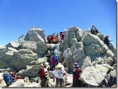 2-14大汝山3015mです。黒部湖、鹿島槍ケ岳方面の景色が雄大です