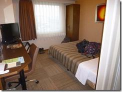 1-12今日はホテル泊まり、おまけにシングル利用で楽ちん