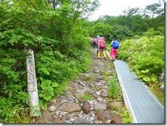 4-03石畳の登山道に変わります。中央コース登山道