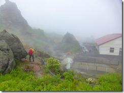 4-15須川高原温泉へ下りました