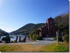 2-09堂崎天主堂、五島はクリスチャンも教会が多いです