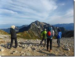 40別山から剱岳岳