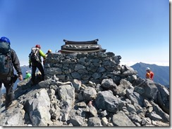 25山頂に着きました