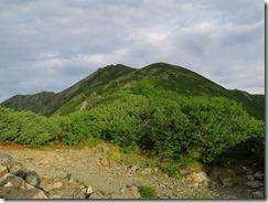 3-06千枚岳より丸山、と荒川東岳